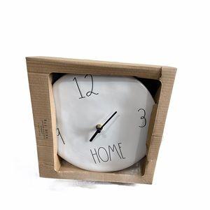 NWT Rae Dunn Home Wall Clock